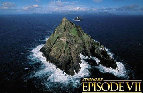 Star Wars, Star Wars Episode VII, Kerry, Skellig Michael, shoot in ireland, JJ Abrahms, trilogy, star wars saga, harrison ford, domhnall gleeson, star wars on irish island - HeadStuff.org