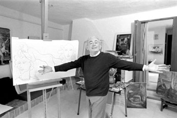 Elmyr do Hory, art forger, fake art, fraud, art forgery, hungarian, Orson Welles, f is for fake, Pablo Picasso, Raoul Duffy, Henri Matisse, museum - HeadStuff.org