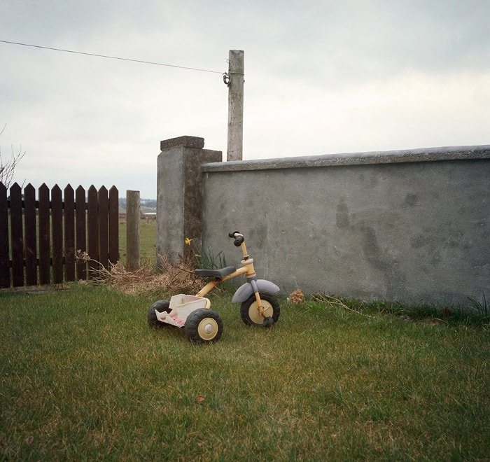 Tricycle, Kid's tricycle, Irish garden, nostalgia, memories, sad, times moving on, Things Were Better Then, Ruth Connolly, Photography, photographer, artist - HeadStuff.org