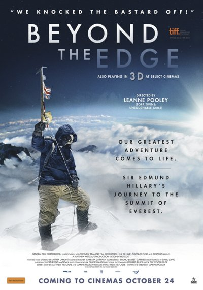 Beyond the Edge, Documentary, review, mt. everest, adventure documentary, leanne pooley, peter h. morris - HeadStuff.org