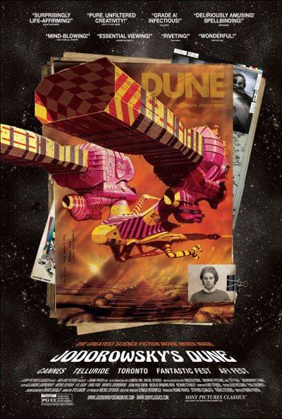 Alejandro Jodorowsky, Jodorowsky's Dune, Dune, Sci-fi, Science fiction, chilean director, Mick Jagger, H.R. Giger, Pink Floyd, Orson Welles, Documentary, unmade, never made, ambitious movie project, Salvador Dali, David Carradine, Peter H. Morris, sci-fi novel - HeadStuff.org