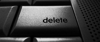 black delete key, delete button, sand in vaseline, facebok terms and conditions, t&c, Rest in Pixels, Morna O'Connor, Digital Death, Digital memories, how will you be remembered - HeadStuff.org