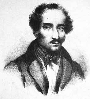 """The portrait Lacenaire chose for the front of his memoirs. Beneath was an inscription deriding """"virtue"""" as a trick played on the poor by the rich, Chardon, The Elegant Criminal, Memoirs of Evil, Pierre Francois Gaillard, France, History - HeadStuff.org"""