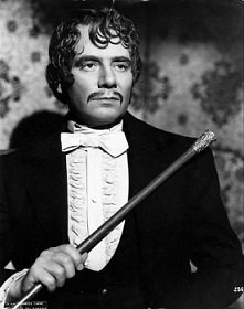 Marcel Herrand as Lacenaire in Children of Paradise, the movie that first put him on the silver screen, The Elegant Criminal, Film, Movie, Crime, murder, deathwish, beheading, beheaded, guillotine, executed - HeadStuff.org