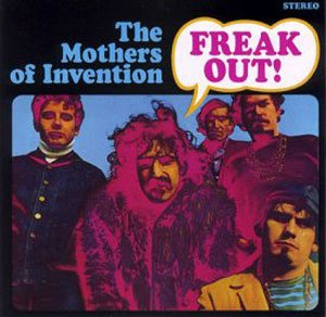 The Mothers of Invention, Freak Out, album, cover, artwork, AudioBlind - HeadStuff.org