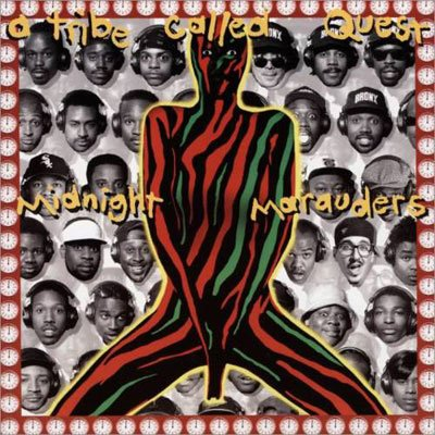 A Tribe Called Quest, Midnight Marauders, album cover, artwork, review for AudioBlind - HeadStuff.org