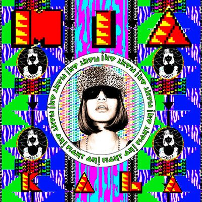 MIA, Kala, M.I.A,  album cover, artwork, review for AudioBlind - HeadStuff.org