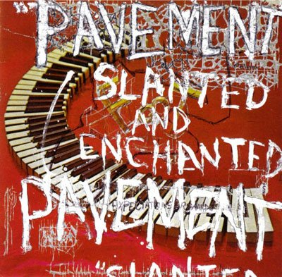 Pavement, Slanted and Enchanted album cover, artwork, review for AudioBlind - HeadStuff.org