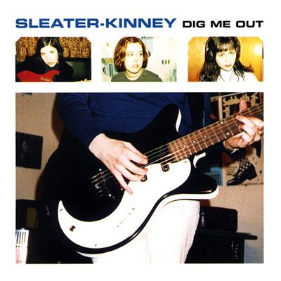 Sleater Kinney, Dig Me Out, album cover, artwork, review for AudioBlind - HeadStuff.org