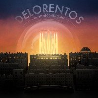 Album cover for Irish band Delorentos 4th album Night Becomes Light, artwork, October 2014 - HeadStuff.org