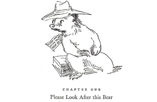 Paddington Bear, Chapter 1, please look after this bear, paddington station, Michael Bond, Peggy Fortnum, illustration by peggy fortnum, early paddington bear, the first paddington bear, history, love, passion, growing up, childhood - HeadStuff.org