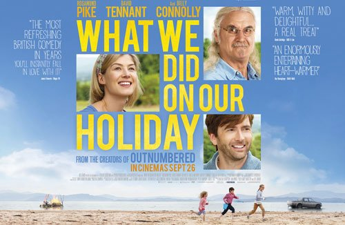 What We Did on our holiday, movie, film, review, british film, british comedy, billy connolly, david tenant, rosamund pike, film review, new film - HeadStuff.org