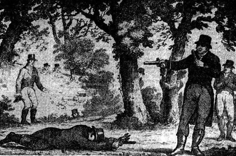 One of the most famous duels in Irish history was in 1815, when Daniel O'Connell shot and killed John D'Esterre, a Dublin councillor - HeadStuff.org