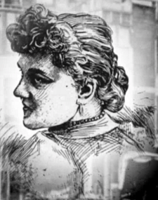 Most of Holmes' victims remain anonymous, but some, like Emeline Cigrand (here in a contemporary newspaper sketch), were later identified to have vanished while in his employ - HeadStuff.org