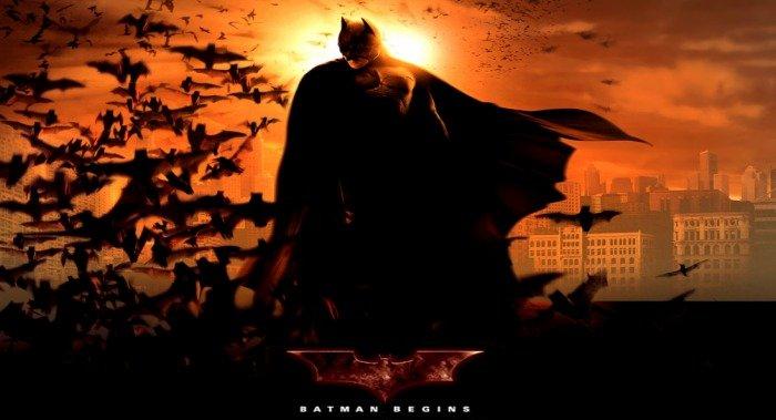Batman Begins Poster Christian Bale Christopher Nolan - HeadStuff.org