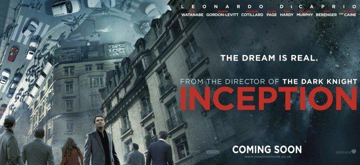 Inception Poster Christopher Nolan - HeadStuff.org