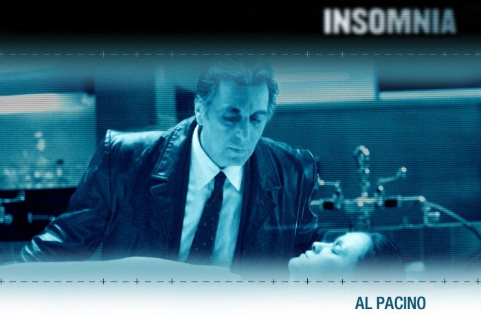 Insomnia Poster Al Pacino Christopher Nolan - HeadStuff.org