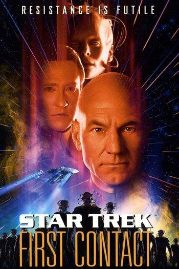Star Trek first contact, jean lic picard, 1996, captain kirk, star trek movie, review - HeadStuff.org