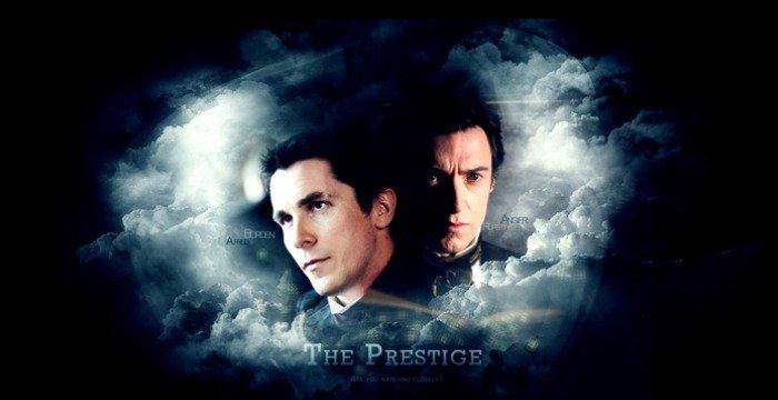 The Prestige Poster Chiistian Bale Christopher Nolan Hugh Jackman - HeadStuff.org