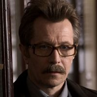 Gary Oldman as Jim Gordon in the Dark Knight movies, sporting one regulation 'tache, moustache, Movember - HeadStuff.org