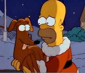 The Simpsons, Santa's Little Helper, first episode-headstuff.org