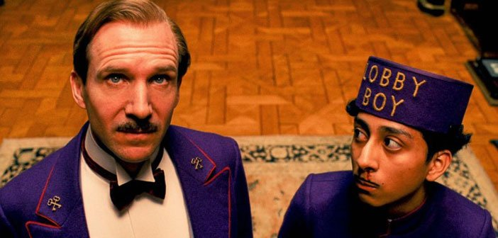 The Grand Budapest Hotel, wes anderson film, ralph fiennes, the best films of 2014, movies, oscars - HeadStuff.org