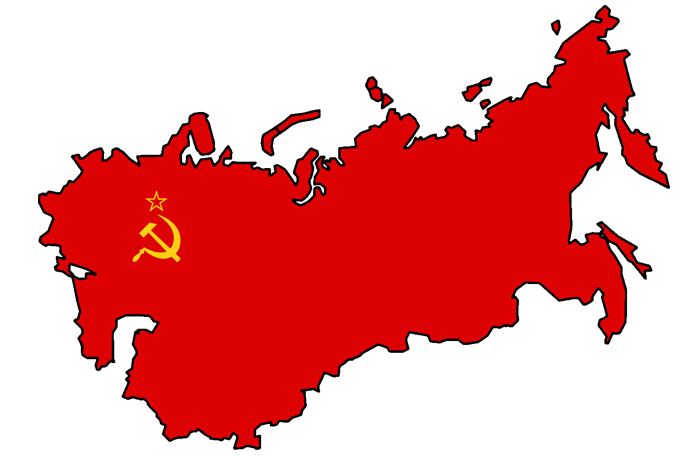 USSR map, soviet union, USSU, january first, 1st day of the new year - HeadStuff.org