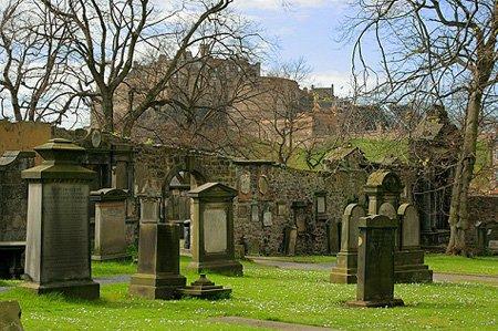 Greyfriars Kirkyard, where Francis Charteris was buried, history bad guys - HeadStuff.org