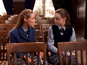Paris and Rory Gilmore