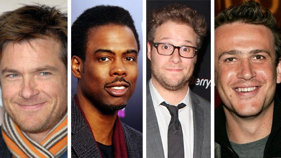 Chris Rock, Seth Rogen, Jason Segel, Jason Bateman - Headstuff.org