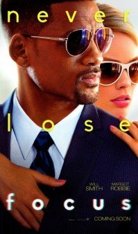 Focus Will Smith Margot Robbie Movie Poster - HeadStuff.org
