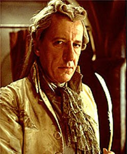 Geoffrey Rush as de Sade in Quills. - headstuff.org