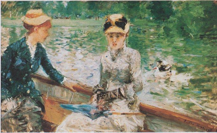 Berthe Morisot, Jour d'Ete, 1879-Headstuff.org