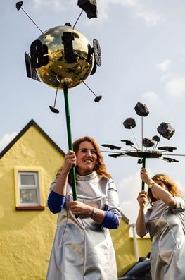 St Patrick's Day Parade Askeaton Contemporary Arts-Headstuff.org