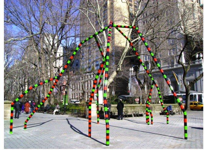 Eva Rothschild, Empire, New York Public Art Commission, 2011-Headstuff.org