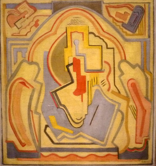 Composition, Evie Hone, 1927-28-Headstuff.org