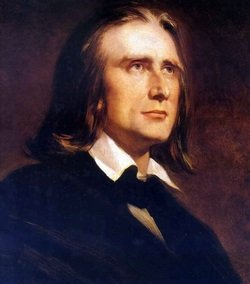 Painting of Franz Liszt - headstuff.org