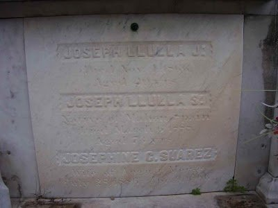 The grave of Jose Llulla - headstuff.org