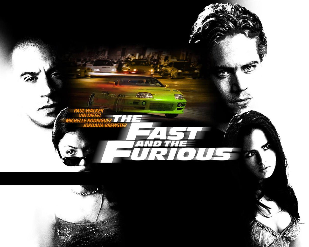 The Fast and the Furious 2001 Poster - HeadStuff.org