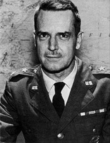 Edward Lansdale wearing military uniform - headstuff.org
