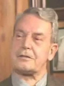 Crop of a still from a documentary interview with Edward Lansdale - headstuff.org