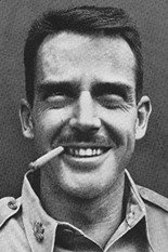 Photo of a young Edward Lansdale with a cigar. - headstuff.org