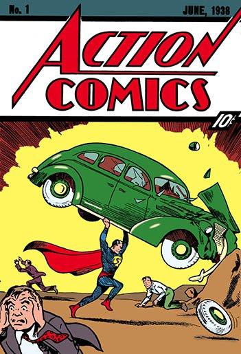 Action Comics #1 - HeadStuff.org