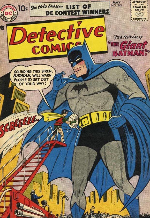 Batman Detective Comics 1950s - HeadStuff.org