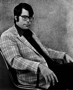 Stephen King in 1975, from the dustjacket of Salem's Lot. - headstuff.org