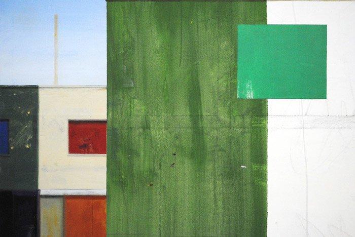 Ramon Kassam, Premises, Acrylic on Linen, 2015. (detail)-Headstuff.org