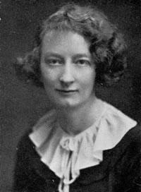 Photo of wartime diarist Vere Hodgson - headstuff.org