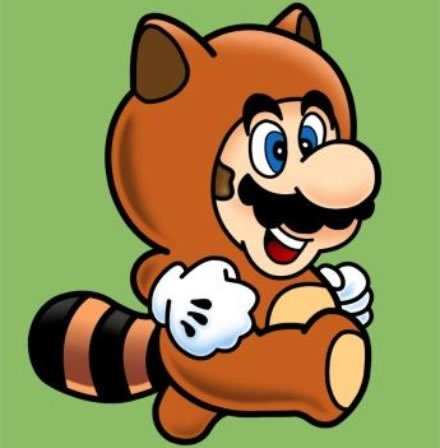 Romeo dressed in a Tanooki Suit from Super Mario Bros  3 - HeadStuff.org