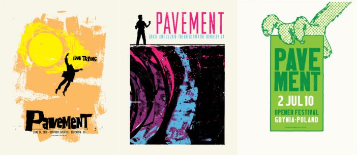 PAvement Posters - HeadStuff.org
