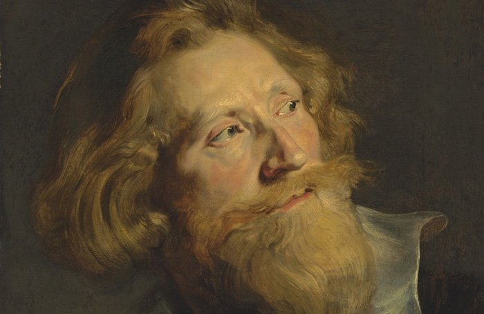 1 Sir Peter Paul Rubens (1577-1640) Portrait of a bearded man, in three-quarter profile, bust-length, with a white collar and gold chains oil on oak panel, unframed 50.9x41.2cm Photo courtesy ©Christie's images limited 2015-Headstuff.org